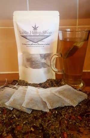 Hempy Wild Strawberry And Raspberry tea bags x 20