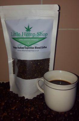 Hemp Italian Espresso Blend Coffee