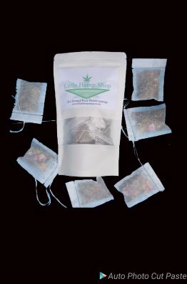 Hempy Rose green tea bags x 20